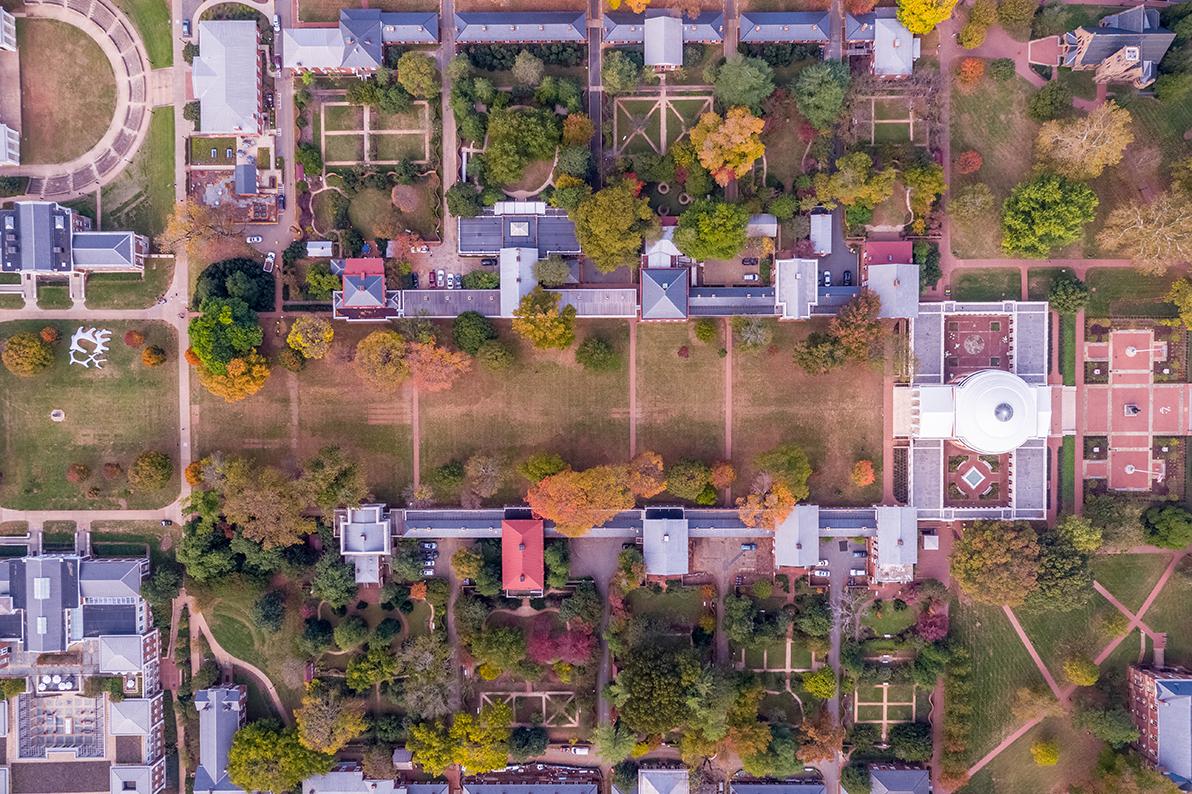 Lawn Aerial Photo